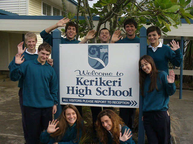 Anno all'estero - Nuova Zelanda - Kerikeri High School