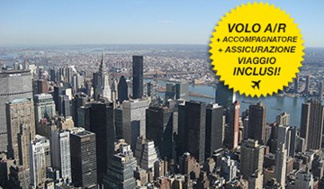 Vacanza studio a New York, con accompagnatore