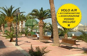 Vacanza-studio con accompagnatore a Malta