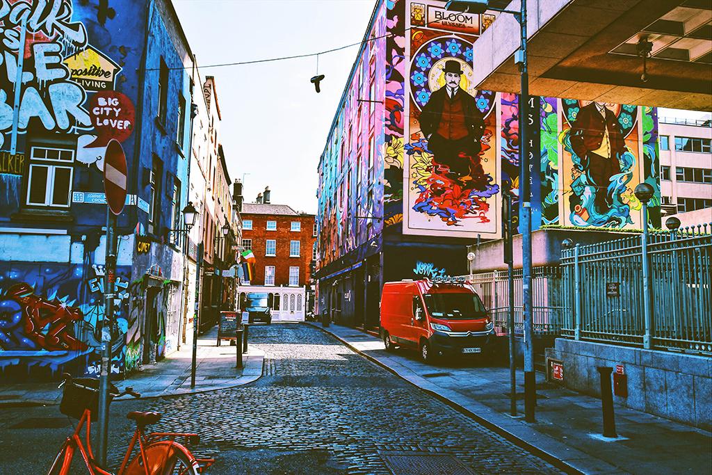 Vacanza studio con accompagnatore a Dublino - Irlanda
