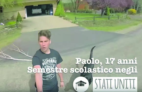 (video) Paolo, programma scolastico negli USA